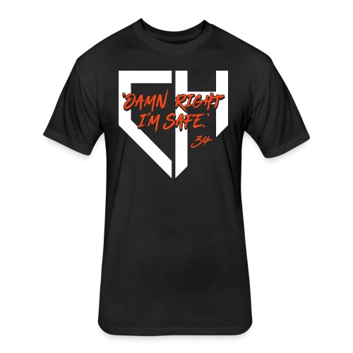 Giants_DRIS - Fitted Cotton/Poly T-Shirt by Next Level