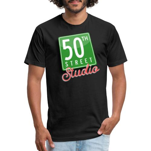 50th Street Studio LOGO - Fitted Cotton/Poly T-Shirt by Next Level