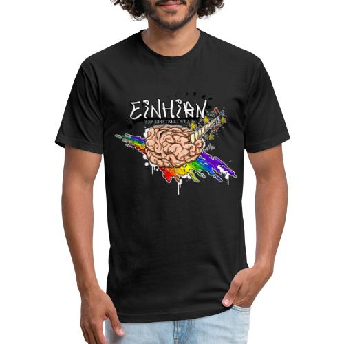 Einhirn - Fitted Cotton/Poly T-Shirt by Next Level