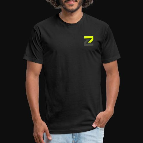 team Zecro official logo - Fitted Cotton/Poly T-Shirt by Next Level