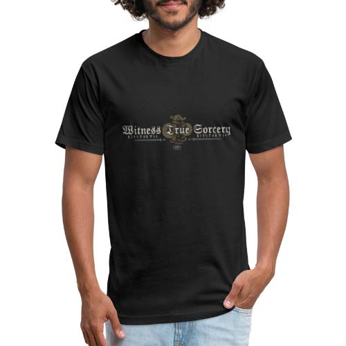 Witness True Sorcery Logo - Fitted Cotton/Poly T-Shirt by Next Level