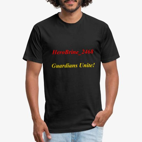 GUARDIANS UNITE - Fitted Cotton/Poly T-Shirt by Next Level
