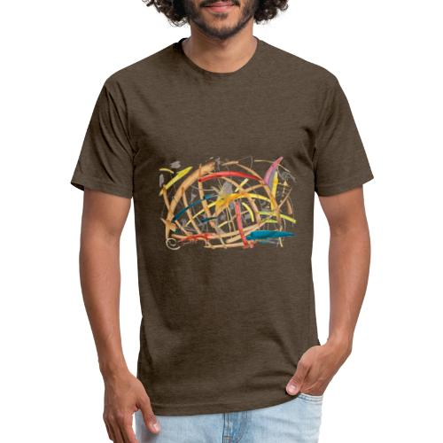 Farm - Fitted Cotton/Poly T-Shirt by Next Level