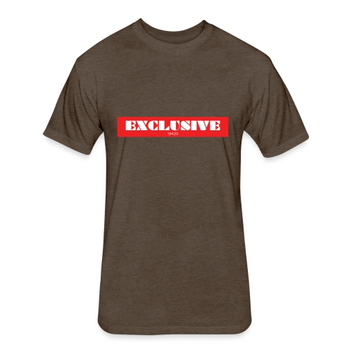 exclusive - Fitted Cotton/Poly T-Shirt by Next Level