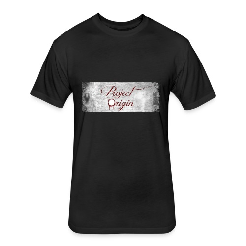 Project Origin - Fitted Cotton/Poly T-Shirt by Next Level