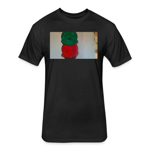Ice cream t-shirt - Fitted Cotton/Poly T-Shirt by Next Level