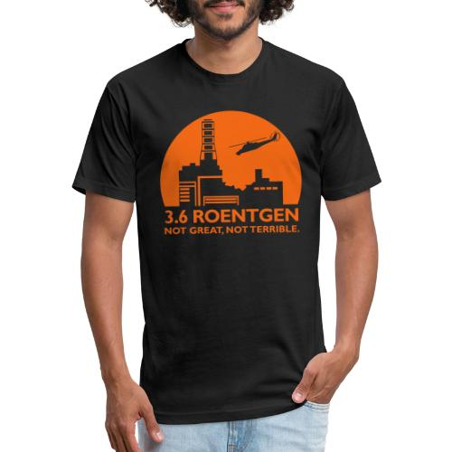 3.6 Roentgen - Fitted Cotton/Poly T-Shirt by Next Level