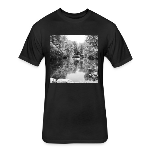 Lone - Fitted Cotton/Poly T-Shirt by Next Level