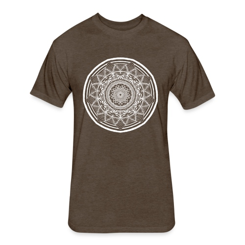 Circle No.1 - Fitted Cotton/Poly T-Shirt by Next Level
