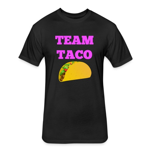 TEAMTACO - Fitted Cotton/Poly T-Shirt by Next Level