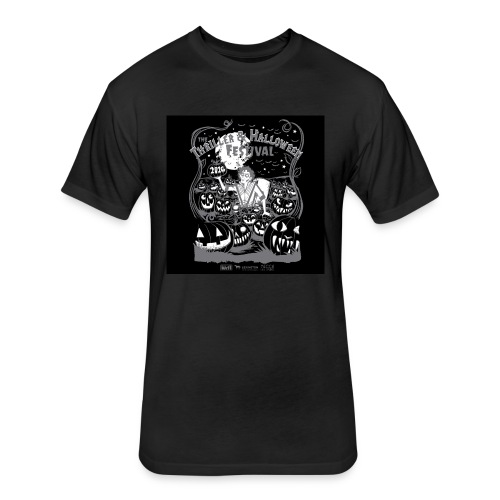 Thriller 2016 Lexington Halloween Parade - Fitted Cotton/Poly T-Shirt by Next Level
