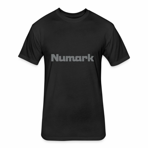 numark logo png transparent - Fitted Cotton/Poly T-Shirt by Next Level