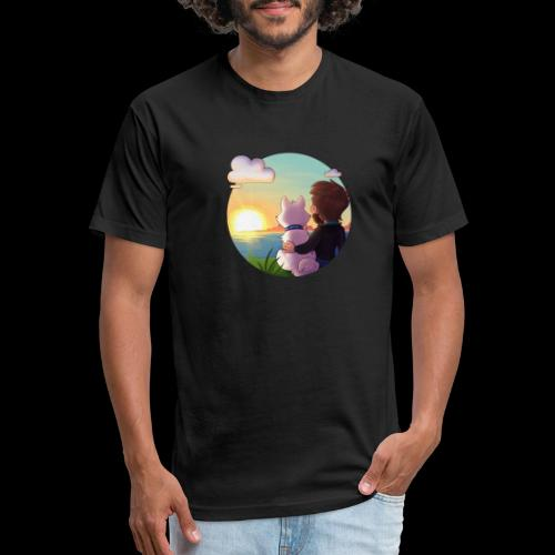 xBishop - Fitted Cotton/Poly T-Shirt by Next Level