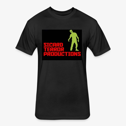 Sicard Terror Productions Merchandise - Fitted Cotton/Poly T-Shirt by Next Level
