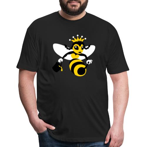 Queen Bee - Fitted Cotton/Poly T-Shirt by Next Level
