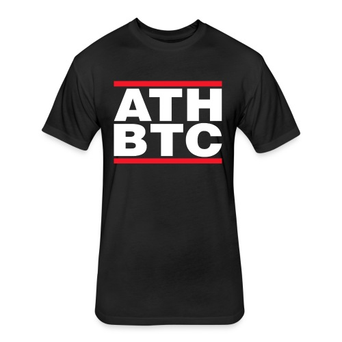 BTC Tshirt - ATH - Fitted Cotton/Poly T-Shirt by Next Level
