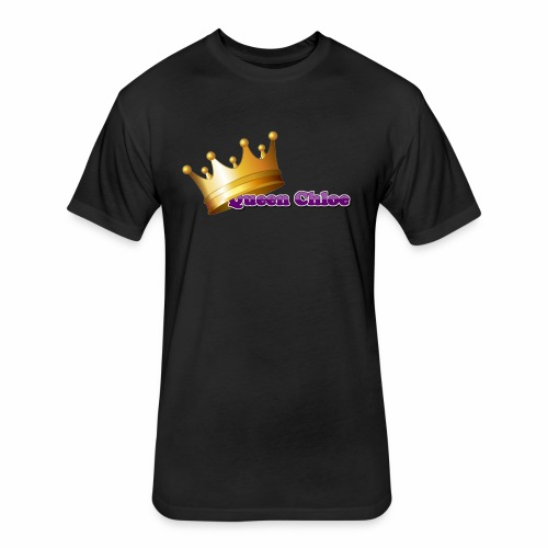Queen Chloe - Fitted Cotton/Poly T-Shirt by Next Level