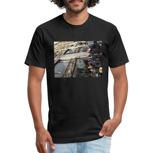 Middle finger by JRL - Fitted Cotton/Poly T-Shirt by Next Level