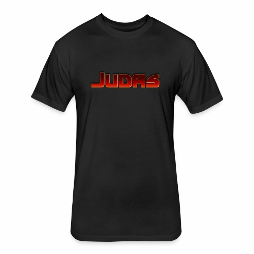 Judas - Fitted Cotton/Poly T-Shirt by Next Level