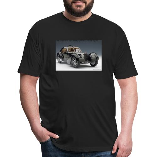 The long lost La Voiture Noire - Fitted Cotton/Poly T-Shirt by Next Level