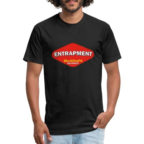 entrapmite - Fitted Cotton/Poly T-Shirt by Next Level