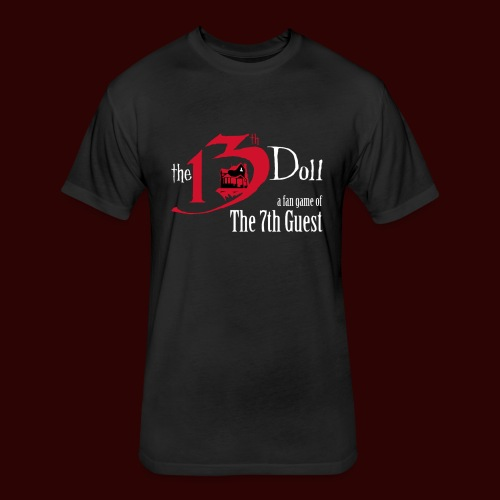 The 13th Doll Logo - Fitted Cotton/Poly T-Shirt by Next Level