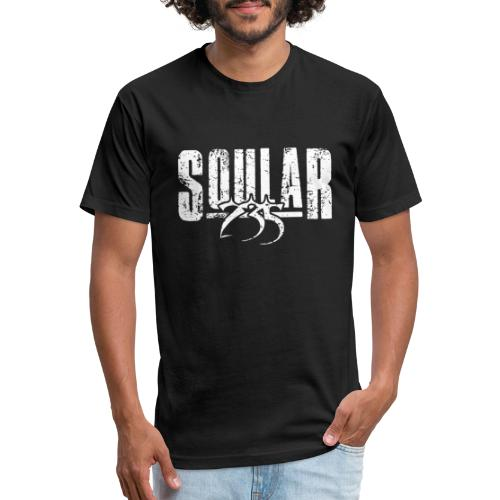 Soular235 White Logo - Fitted Cotton/Poly T-Shirt by Next Level
