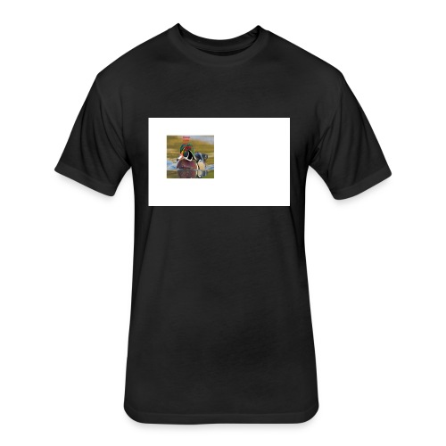 duck_life - Fitted Cotton/Poly T-Shirt by Next Level