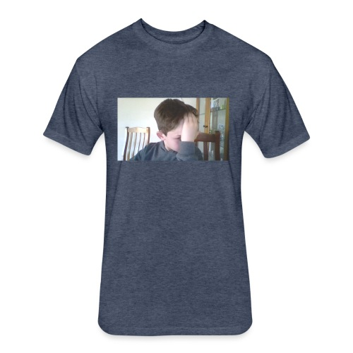 Luiz FAce!! - Fitted Cotton/Poly T-Shirt by Next Level