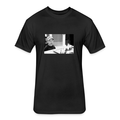 Sad Child - Fitted Cotton/Poly T-Shirt by Next Level