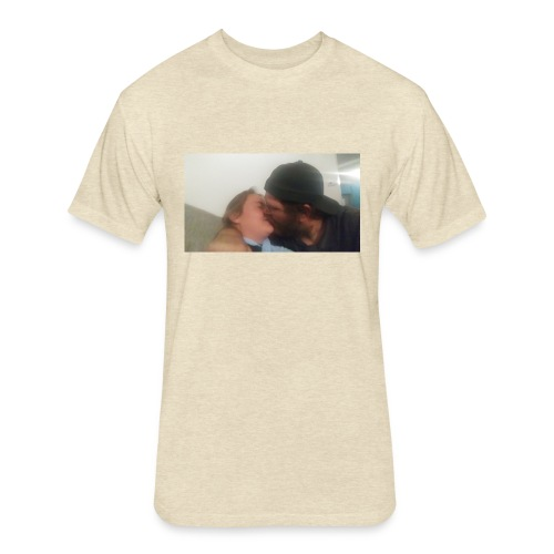 Snapshot 1 - Fitted Cotton/Poly T-Shirt by Next Level