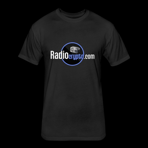 RadioCrypto Logo 1 - Fitted Cotton/Poly T-Shirt by Next Level