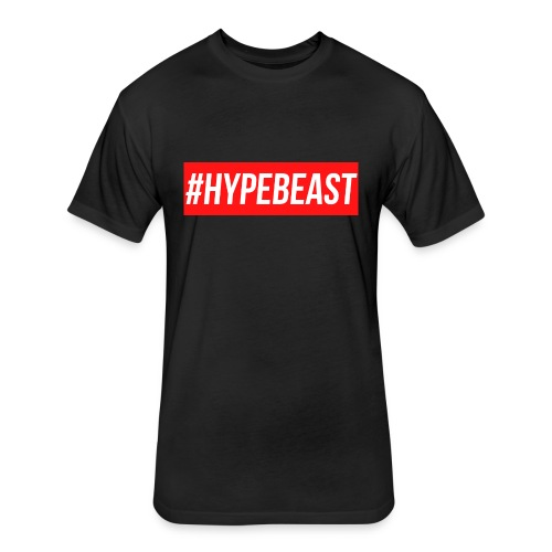 #Hypebeast - Fitted Cotton/Poly T-Shirt by Next Level