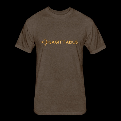 Sagittarius - Fitted Cotton/Poly T-Shirt by Next Level