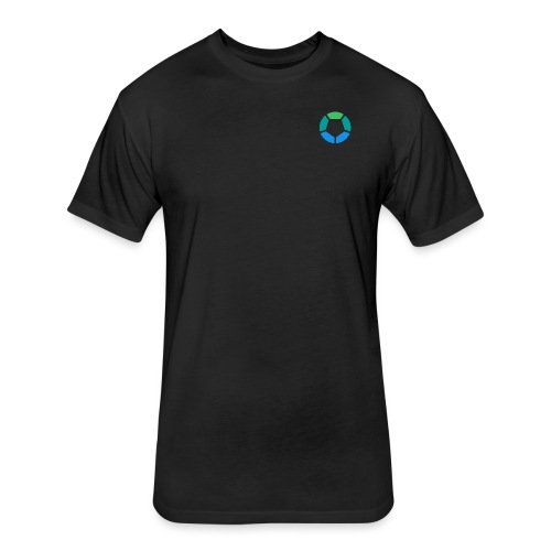 Servo Symbol - Fitted Cotton/Poly T-Shirt by Next Level
