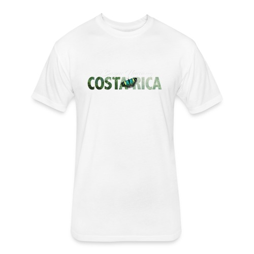 costa_rica_ebn_1 - Fitted Cotton/Poly T-Shirt by Next Level