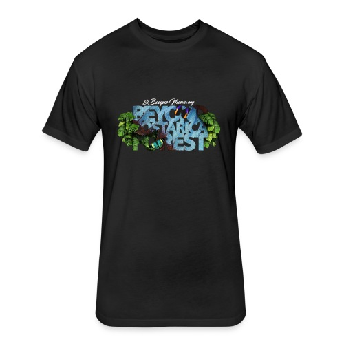 Beyond Costarica Forest E - Fitted Cotton/Poly T-Shirt by Next Level