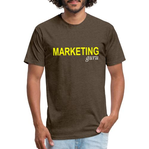 Marketing Guru - Fitted Cotton/Poly T-Shirt by Next Level