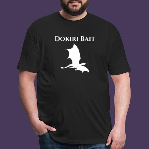 Dokiri Bait White - Fitted Cotton/Poly T-Shirt by Next Level