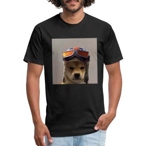 Renegade Doggo - Fitted Cotton/Poly T-Shirt by Next Level