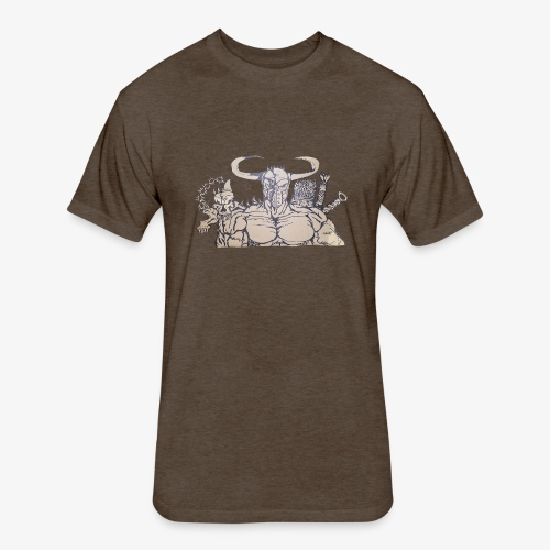 bdealers69 art - Fitted Cotton/Poly T-Shirt by Next Level