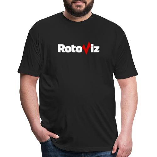 RotoViz - Fitted Cotton/Poly T-Shirt by Next Level
