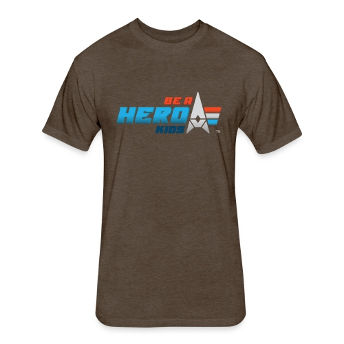 BHK primary full color stylized TM - Fitted Cotton/Poly T-Shirt by Next Level
