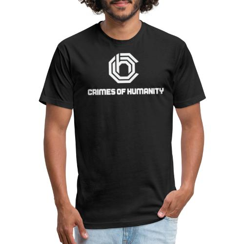 Crimes Of Humanity - Fitted Cotton/Poly T-Shirt by Next Level