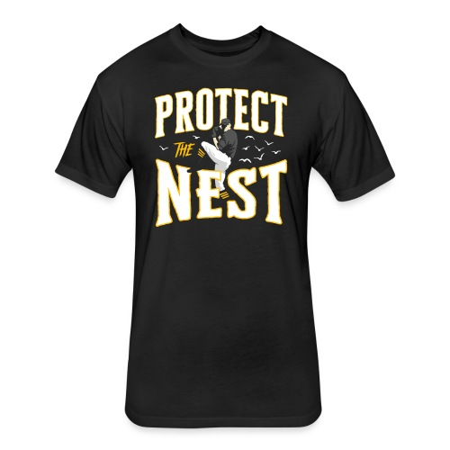 Protect the Nest - Fitted Cotton/Poly T-Shirt by Next Level