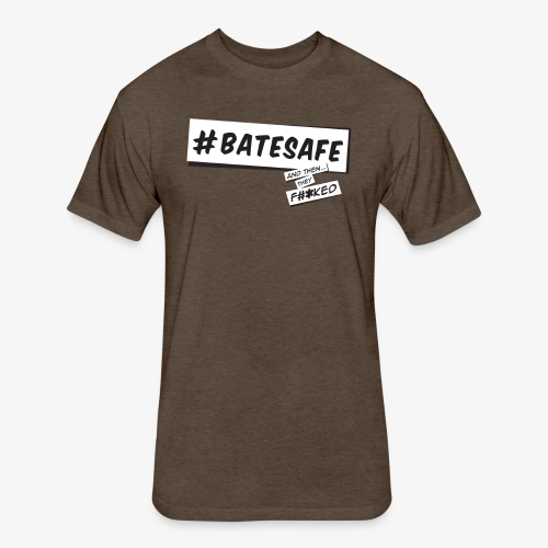 ATTF BATESAFE - Fitted Cotton/Poly T-Shirt by Next Level
