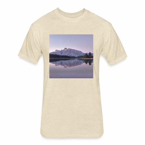 Rockies with sleeves - Fitted Cotton/Poly T-Shirt by Next Level