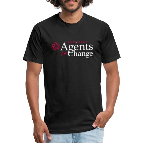 pascoagentsforchange logo - Fitted Cotton/Poly T-Shirt by Next Level