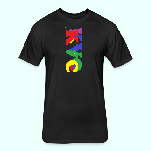 1 - Fitted Cotton/Poly T-Shirt by Next Level