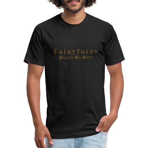 Fairy Tales Official Logo - Fitted Cotton/Poly T-Shirt by Next Level